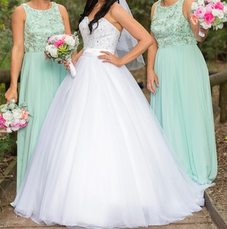 Alfred Angelo Cinderella Preowned Wedding Dress On Sale Stillwhite