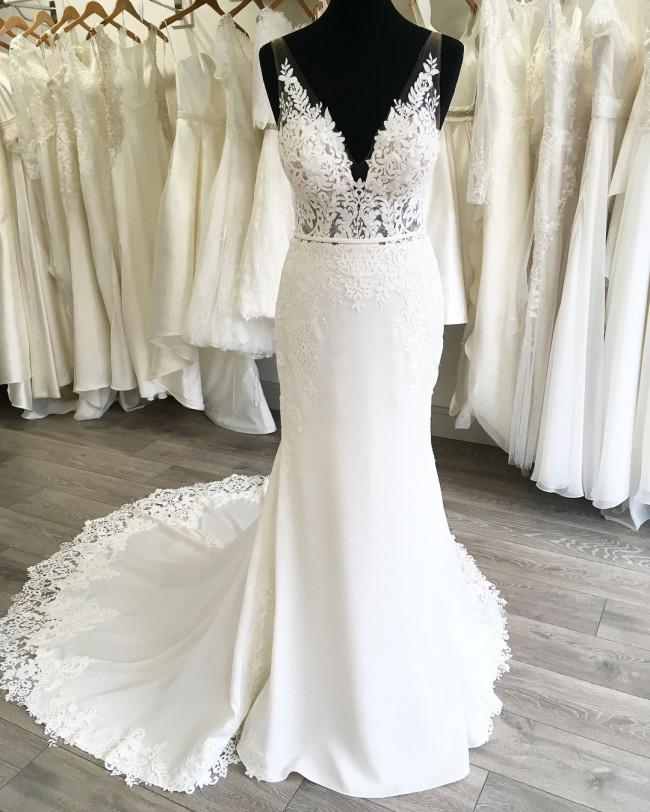 Stella York 6648 New Wedding Dress On Sale 37% Off