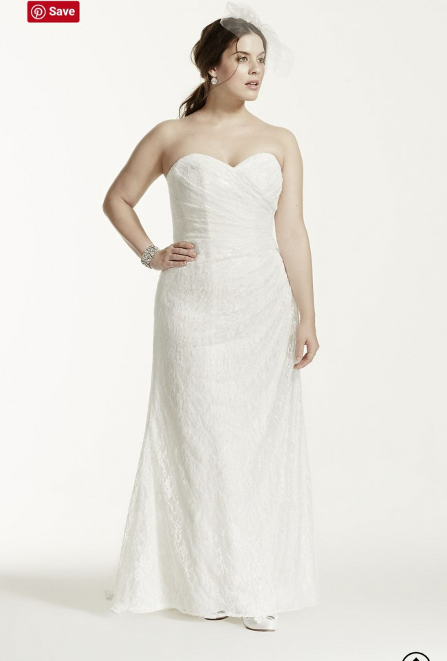 David's Bridal Collection 9WG3263