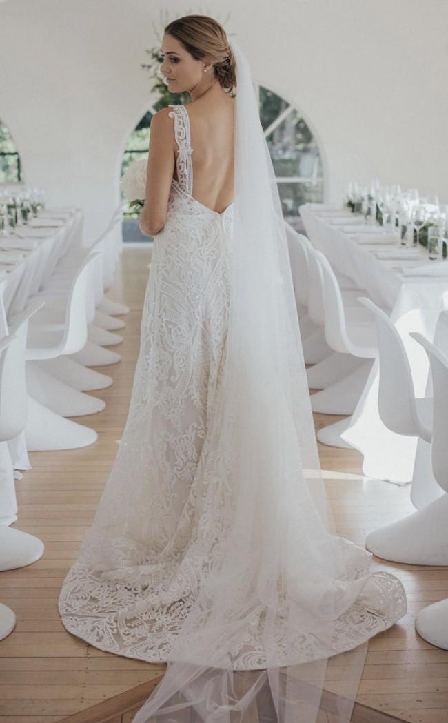 Anna Campbell Jamie Empress Dress