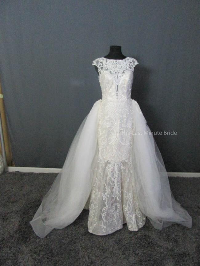 Allure Bridals, C463 w/detachable skirt