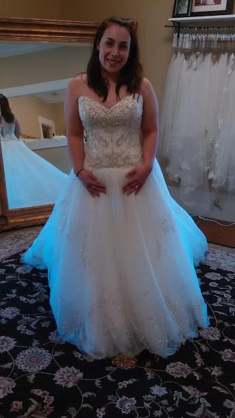 Casablanca Bridal 2158