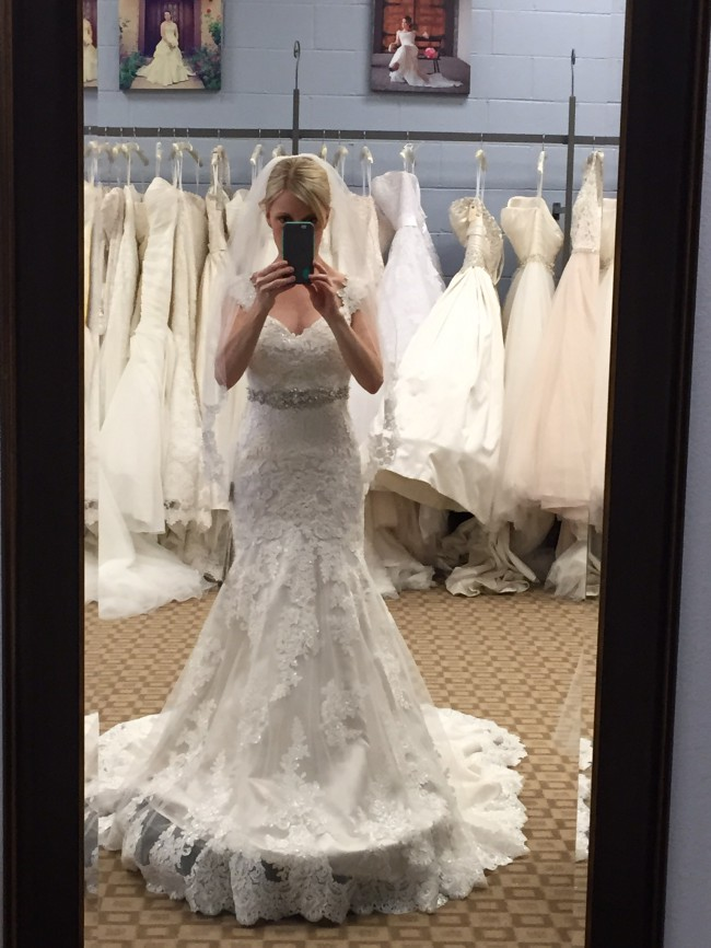 Fit Flare Wedding Dress On Sale 55 Off