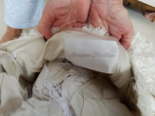 Monique Lhuillier, Monet gown