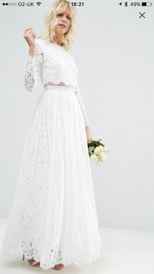 Asos Wedding Dress.Asos Bridal 882840 Wedding Dress On Sale