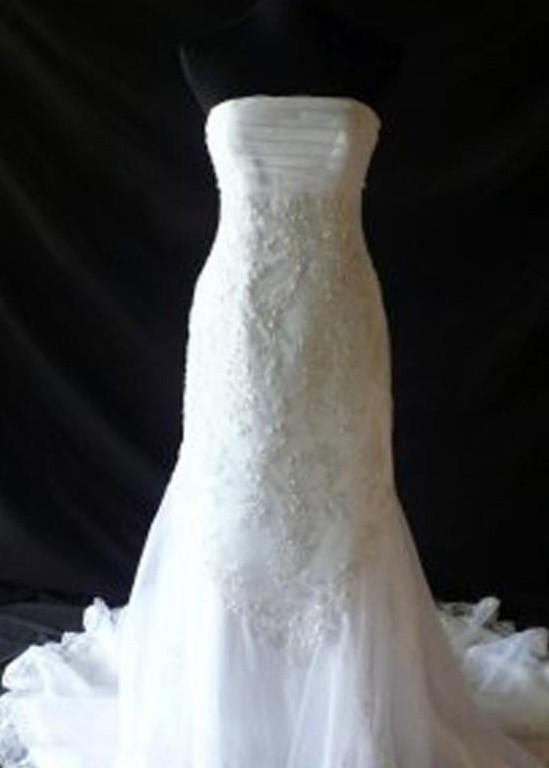David's Bridal T8741R