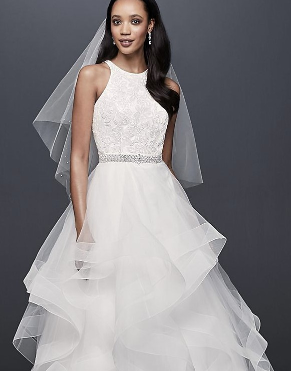 David's Bridal Collection 7V3901