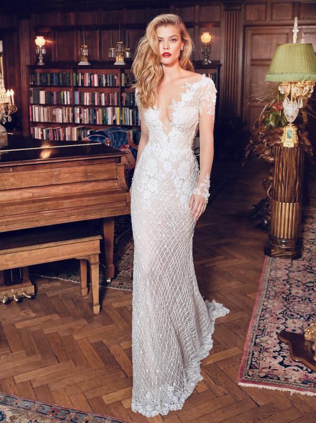 Galia Lahav, Rhiannon dress in ivory