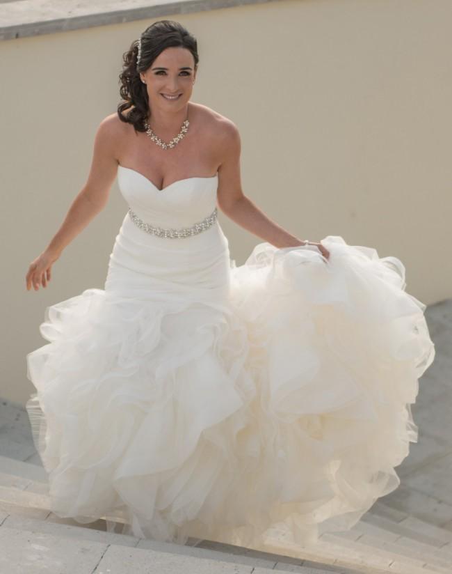 Pronovias Mildred Used Wedding Dress On Sale 58 Off Stillwhite