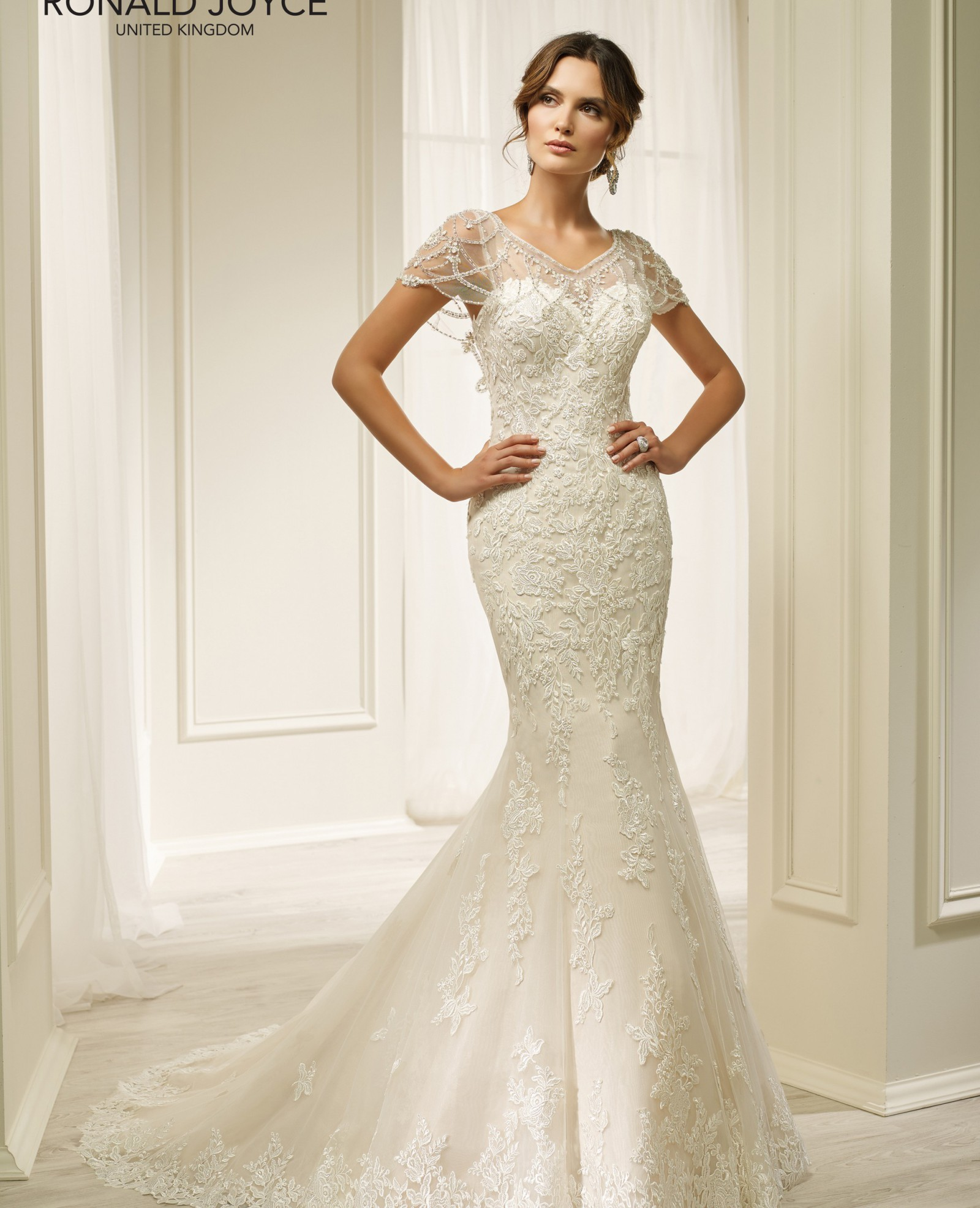 Wedding Dresses For Over 50s Uk: Ronald Joyce Hadara New Wedding Dress On Sale 50% Off
