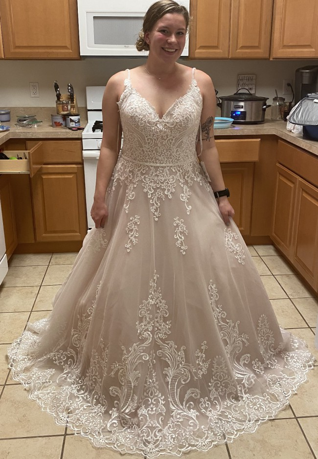 Maggie Sottero Wallis ivory over nude