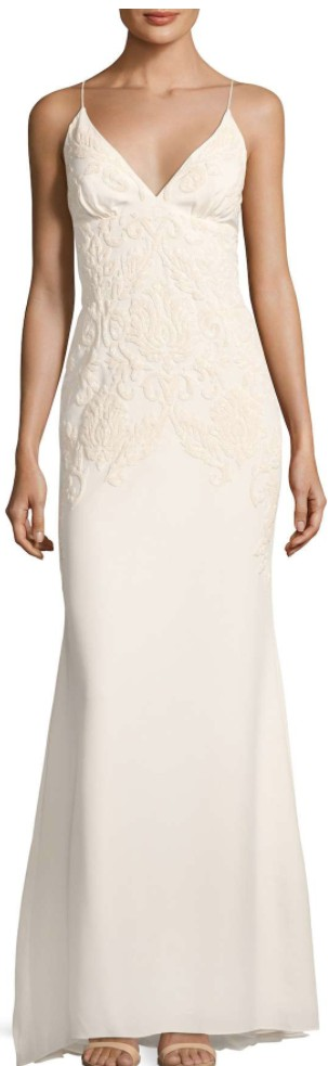 Nicole Miller, Annabel Baroque Beaded Gown