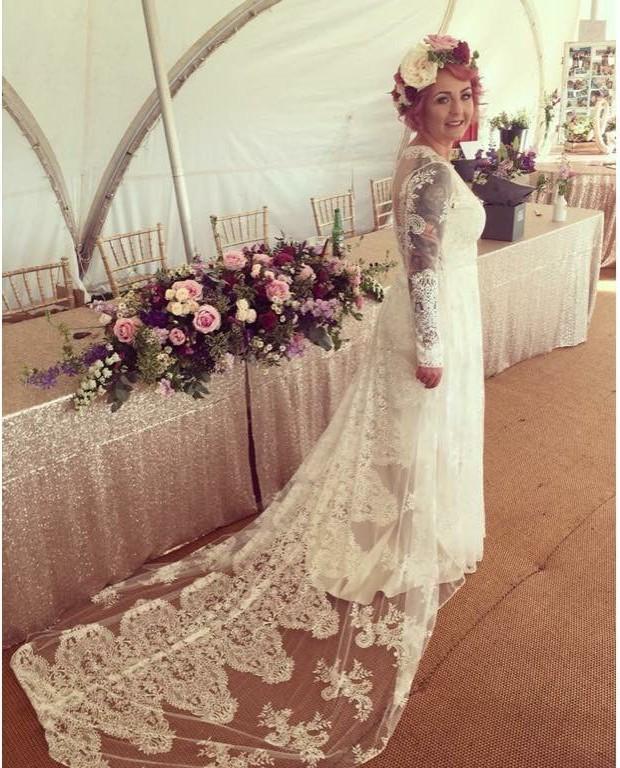 Claire Pettibone Pasadena Preowned Wedding Dress On Sale