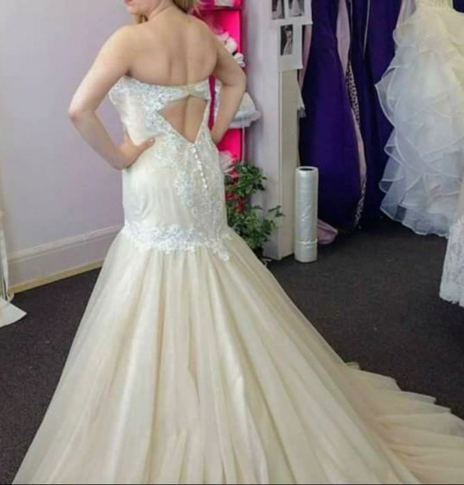Maggie Sottero Lacey/Custom Made