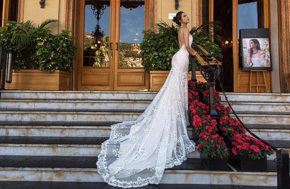 Crystal Couture Fler New Wedding Dress