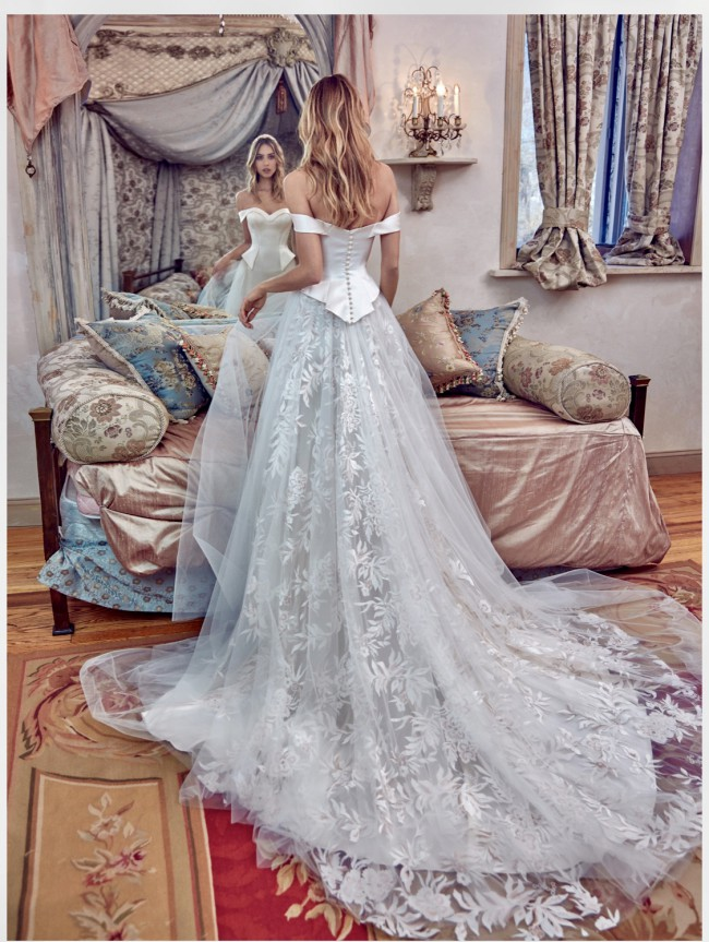 Galia Lahav Secret Royal collection , model: Alexandra