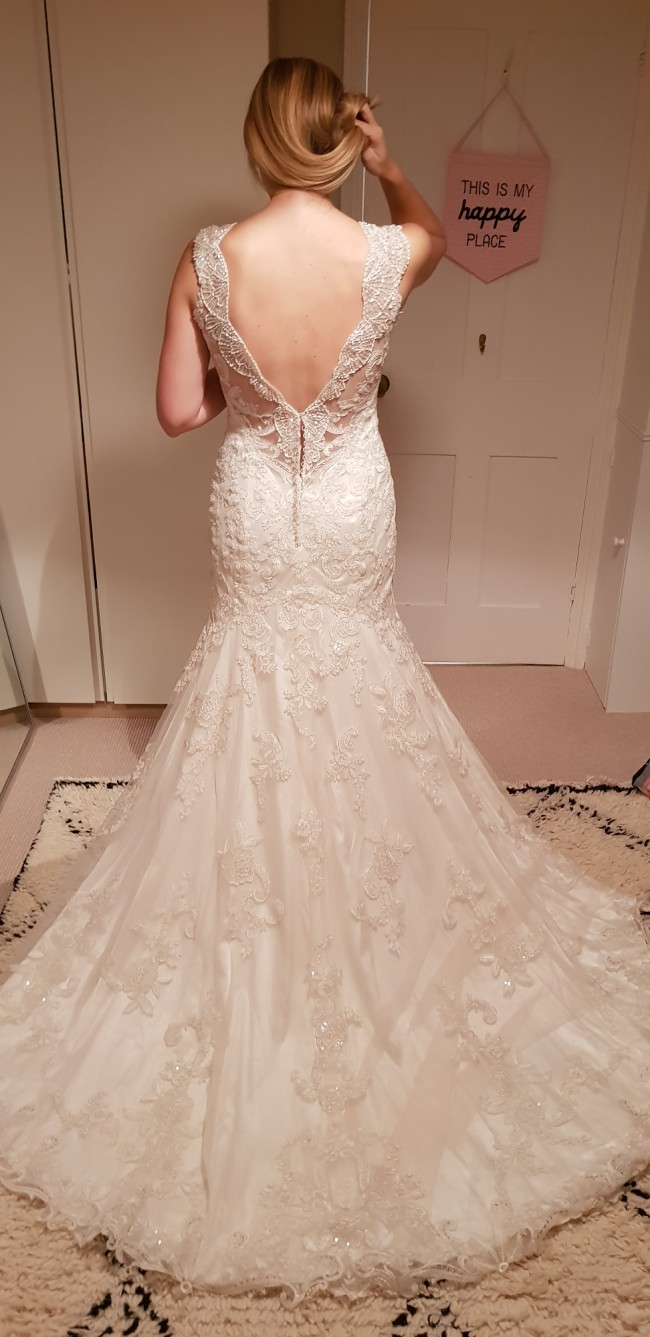Maggie Sottero Elison size 10 (immaculate condition)