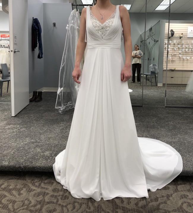 David's Bridal V3816
