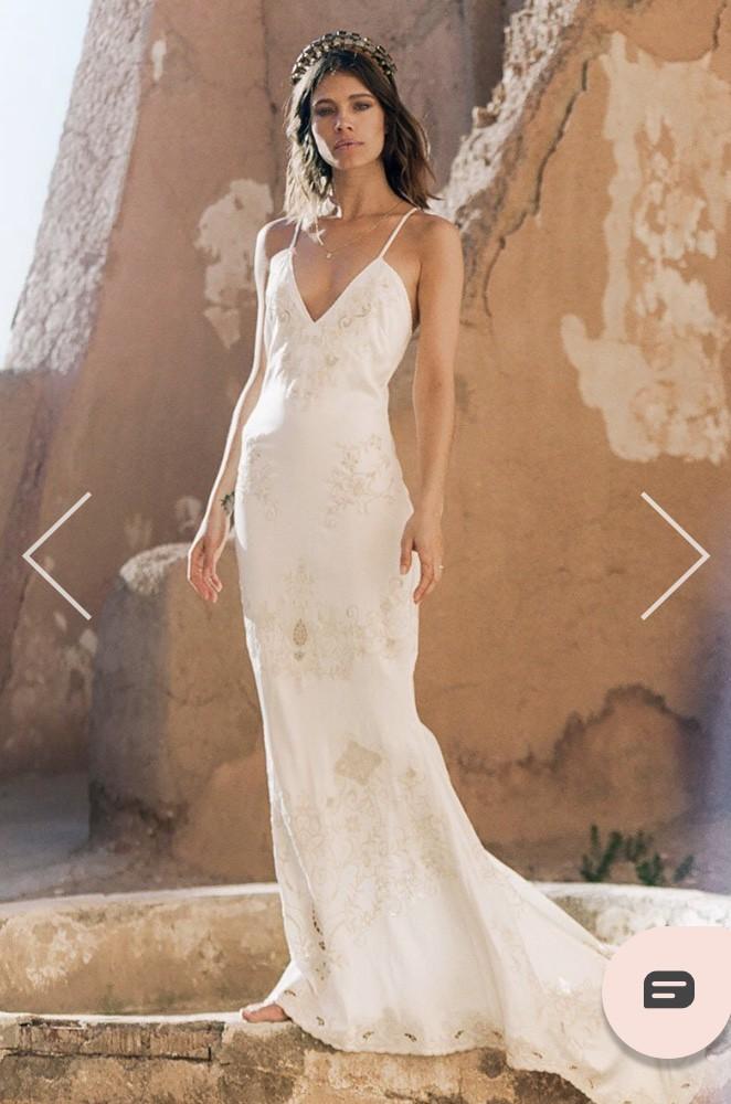 Spell Designs Odette Silk Slip Gown