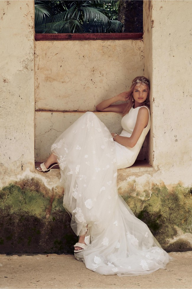 BHLDN, Tuscany Gown