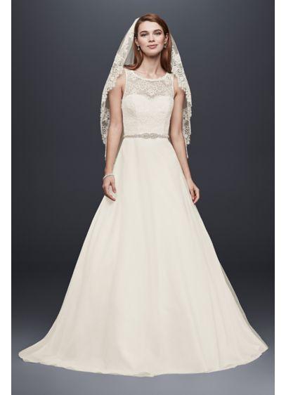 7428b504a4a1 David's Bridal WG3711 New Wedding Dress on Sale 33% Off - Stillwhite United  Kingdom