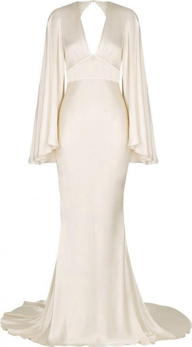 Shona Joy La Lune Backless Maxi Dress