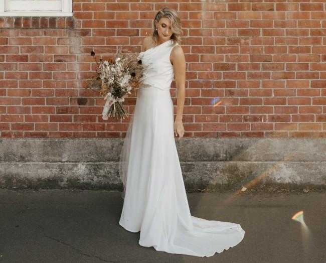 Hayes Bridal Sloane Cami and Melva Skirt