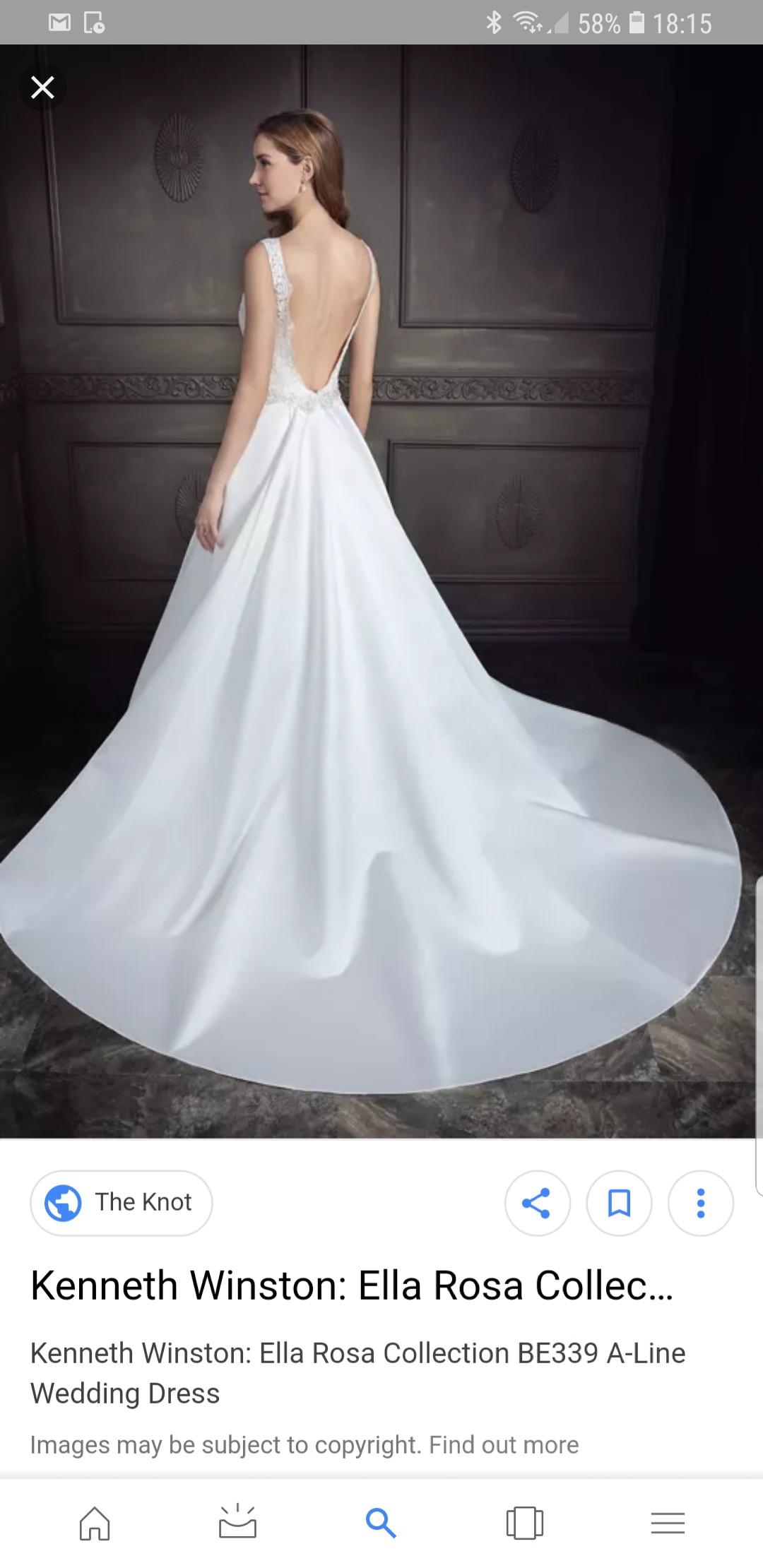8f11637f730a Kenneth Winston Ella Rosa Felicity BE339 Second Hand Wedding Dress on Sale  67% Off - Stillwhite United Kingdom