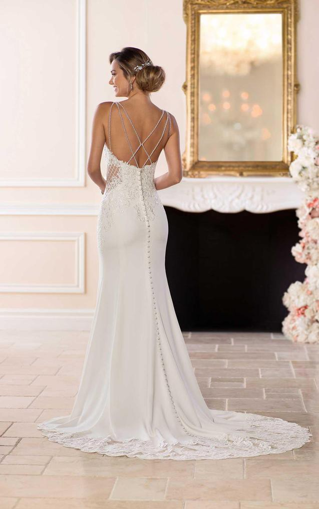 edbaa9beac5 Stella York 6586 New Wedding Dress on Sale 33% Off - Stillwhite Canada