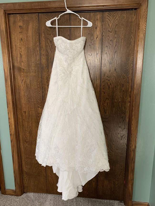 David's Bridal WG9821