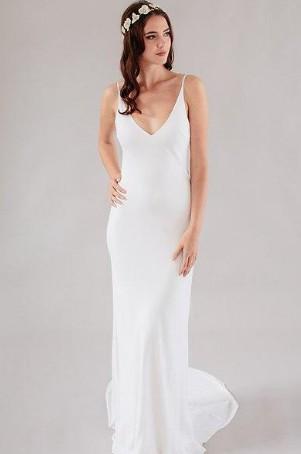 Sally Eagle Fleur Slip Gown