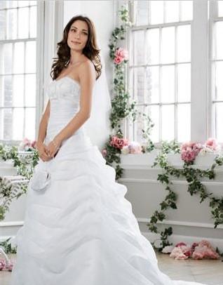 David's Bridal Collection Monique Luo L9479