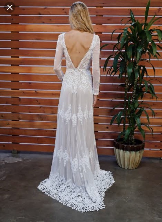 Dreamers & Lovers Lisa backless gown