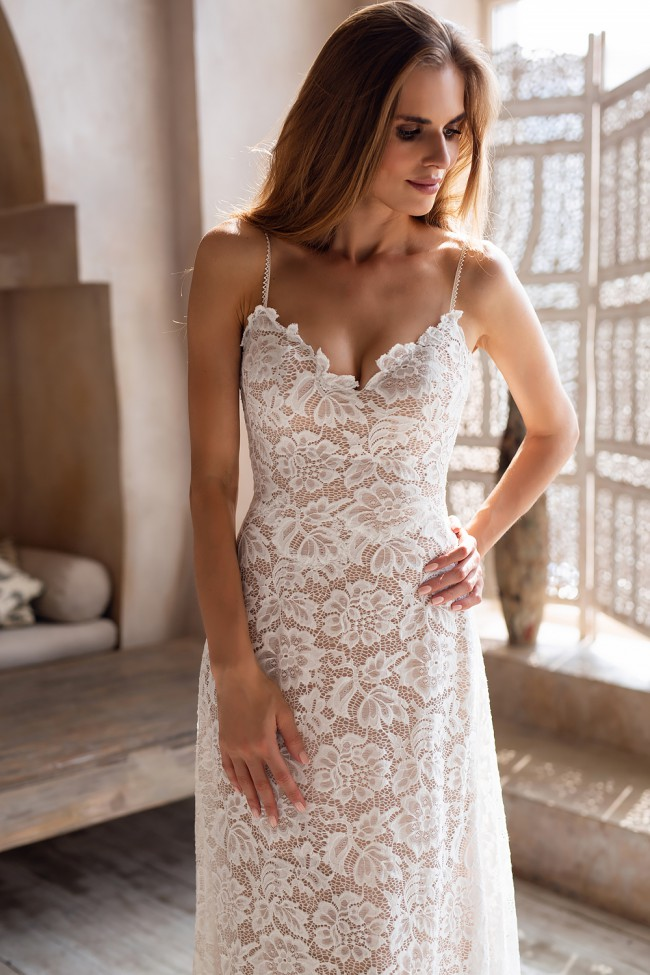 Love and Liberty Bridal Fleur Nude