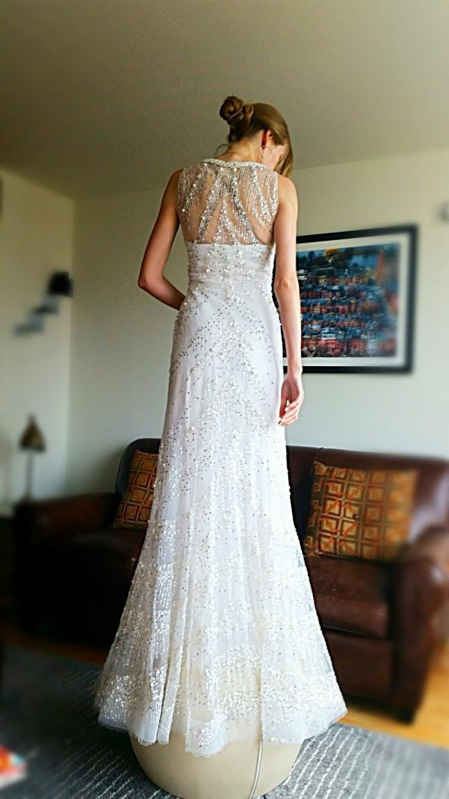 Reem Acra Gown #11085
