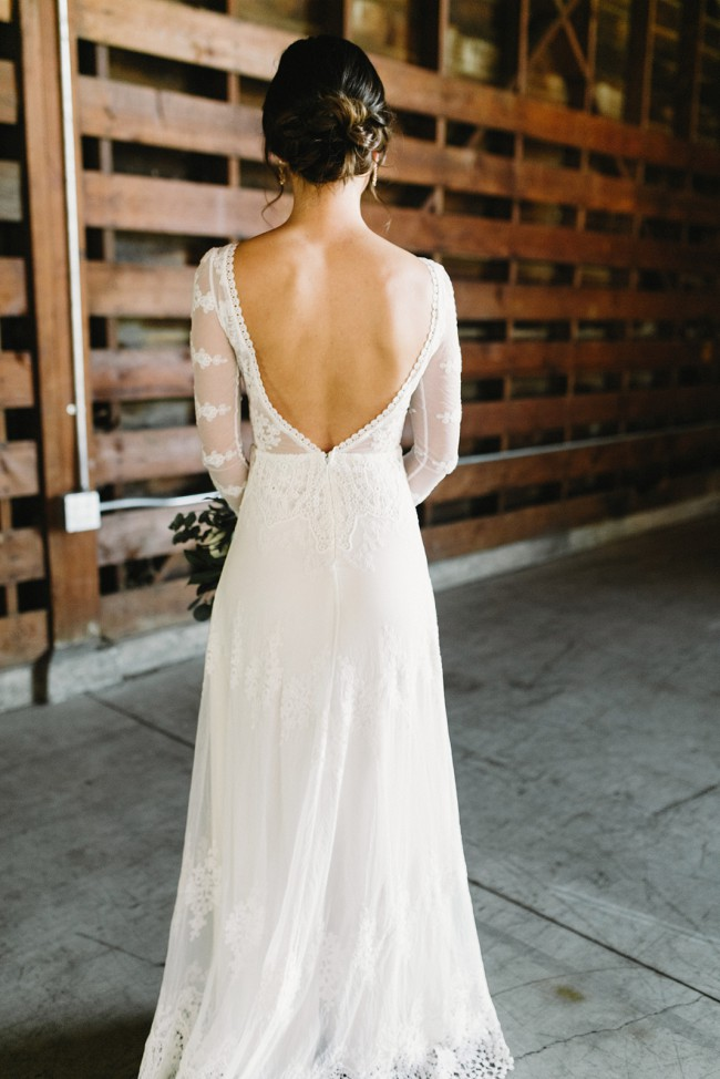Dreamers & Lovers Lisa Lace Wedding Dress