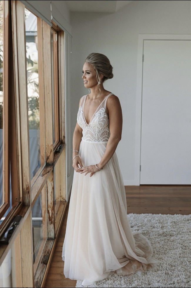 Made With Love, Harlie with a Tulle skirt in Bone