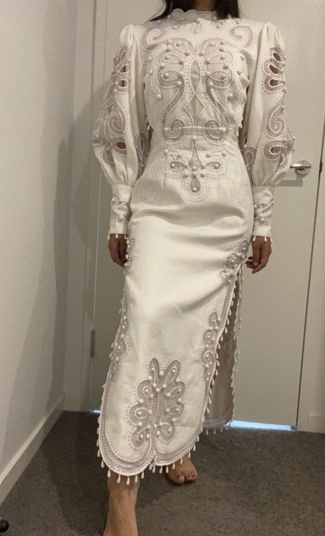 Zimmermann Ninety-six Ric Rac dress