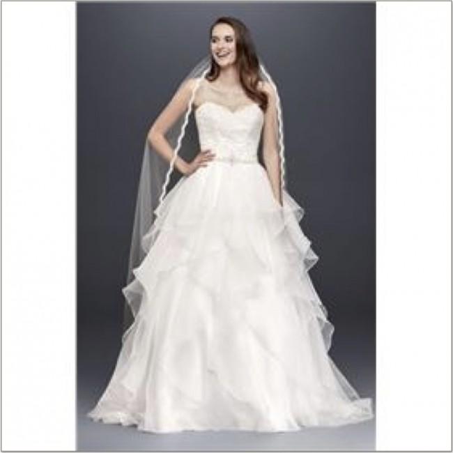 David's Bridal Collection WG3830