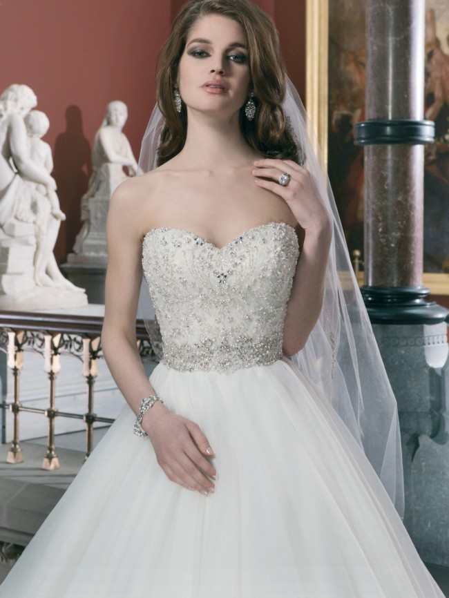 0b184843e1c11 Justin Alexander 8724 New Wedding Dress on Sale 30% Off - Stillwhite ...