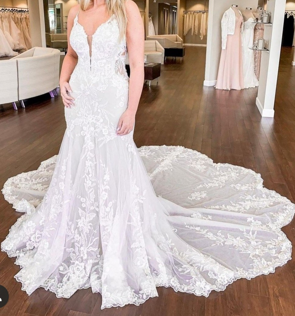 Essense Of Australia 2019-D2770 New Wedding Dress On Sale