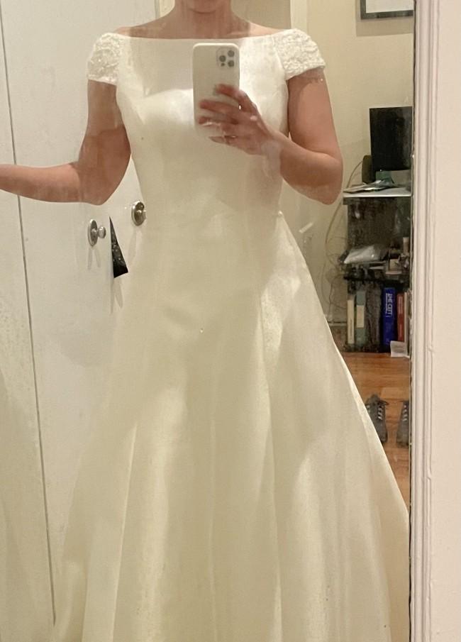 Bijou Bridal Custom made mikado gown