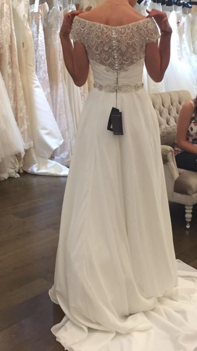 75813217589 Justin Alexander 8799 Second Hand Wedding Dress on Sale 54% Off ...