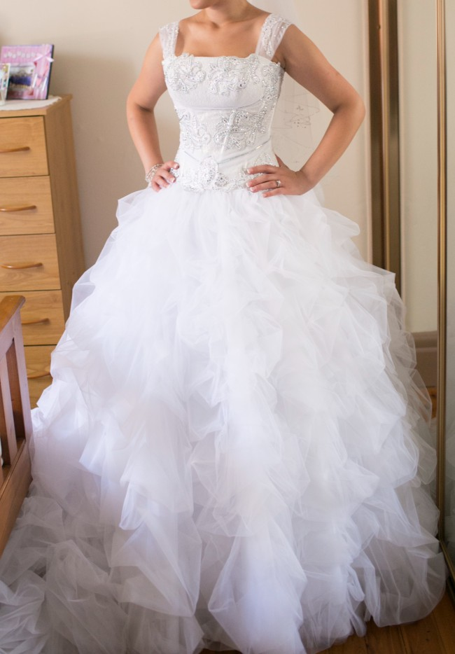 fb2f88fb7c24 Sposissimi Argentina Preowned Wedding Dress on Sale 71% Off ...