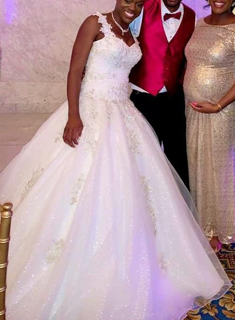 Custom Gown, Jenna in White