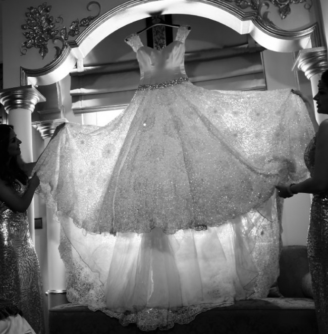 Caroline Castigliano, Ball Gown