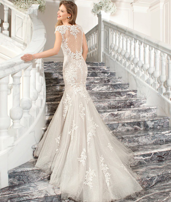 Dimitri Wedding Gowns: Demetrios C209 Preloved Wedding Dress On Sale 26% Off