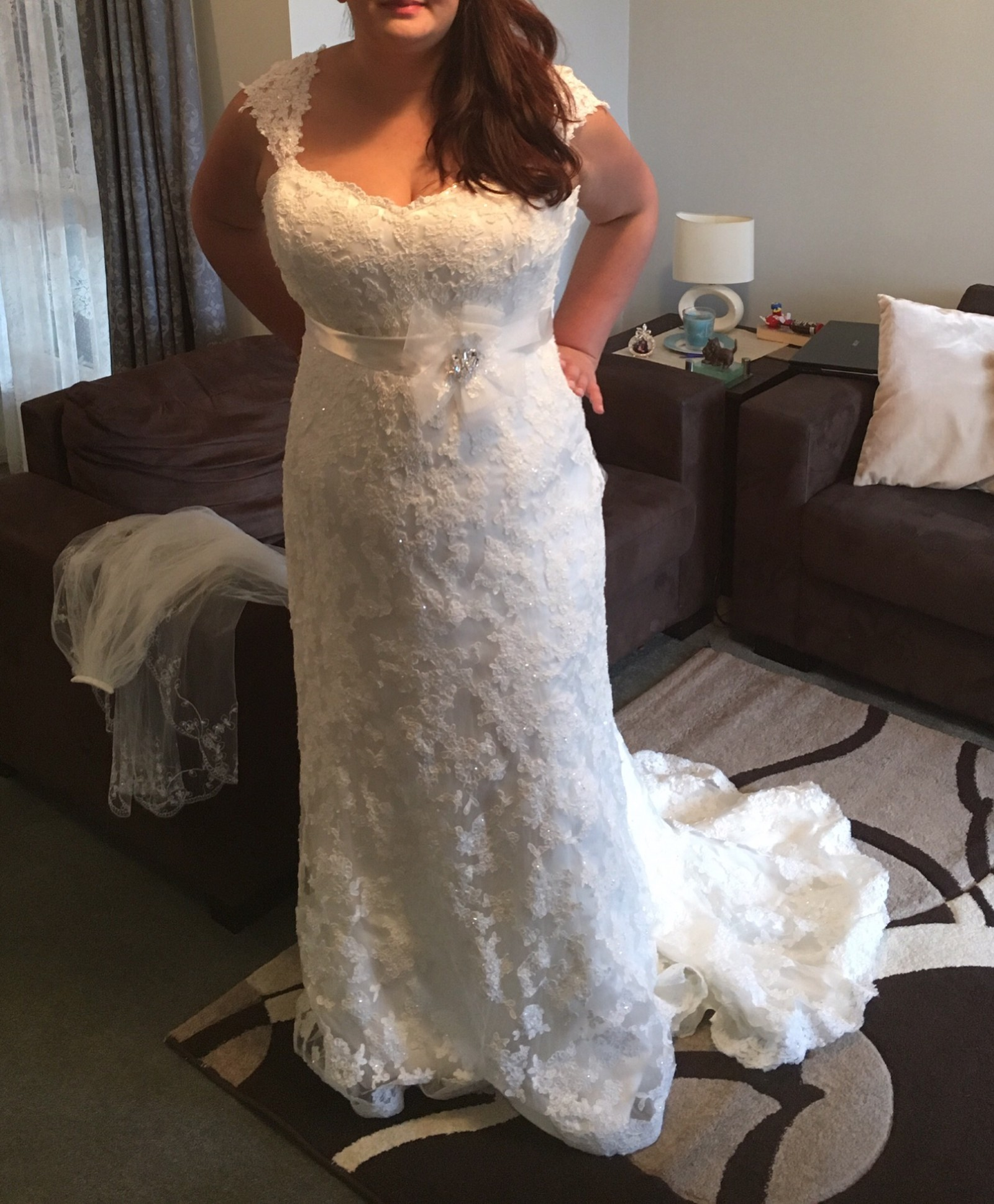 Maggie Sottero Second Hand Wedding Dress On Sale 75% Off