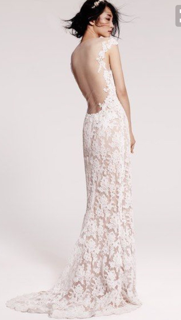Reem Acra Evie Gown Second Hand Wedding Dress On Sale 79 Off