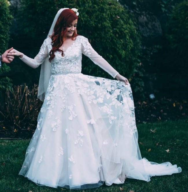 David's Bridal 7SWG820